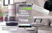 LG's HomeChat will let you text your appliances as if they were people