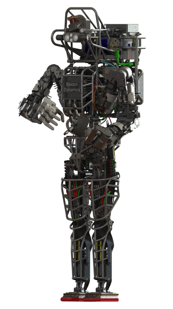 DARPA's humanoid Atlas robot is designed to assist with a range of emergency services, including search and rescue operations. Credit: DARPA