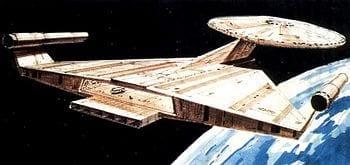 Ralph McQuarrie's Redesigned Enterprise (Photo credit: Wikipedia)