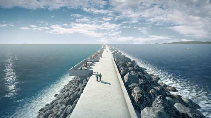Tidal Lagoon Swansea Bay would be the world's first man-made energy-generating lagoon