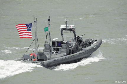 "Navy researchers have achieved a breakthrough in autonomous technology, developing a ""swarming"" system that employs multiple unmanned boats working together to escort ships, patrol harbors or confront adversaries."