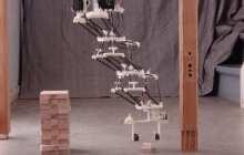 Multi-delta design enables lighter, more economical robotic arm