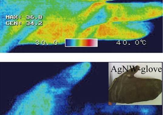 Nanowire clothing could keep people warm — without heating everything else