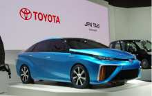 CES 2015: Toyota opens up hydrogen patents