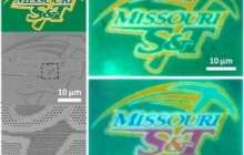 Researchers demonstrate 'no-ink' color printing with nanomaterials