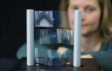 Large roll printed flexible touchsceens now possible at low cost