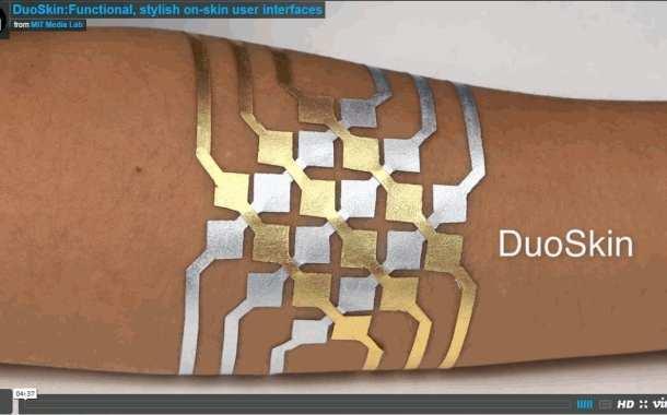 DuoSkin: Functional, stylish on-skin user interfaces