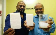 An eco-friendly aerogel composite that insulates 2.6 times better and blocks 80 per cent of outside noise