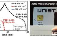 New battery charging technology uses light to charge batteries for powering portable electronics