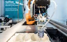 Self-Sustaining Manufacturing Systems Can Even Repair Themselves