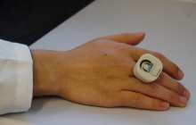 The latest wearable: A chemical and biological threat detector-on-a-ring