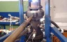 A self-eating rocket engine