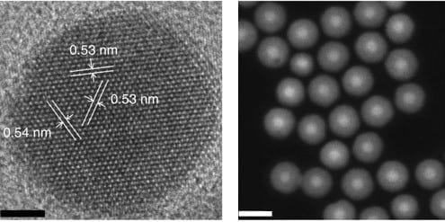 A safer way of imaging living cells using light-emitting nanoparticles