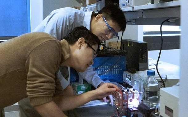 Treating wastewater and simultaneously generating fuels