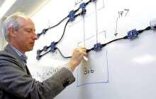 Simulating quantum computer properties in a classical computer to help build quantum computers