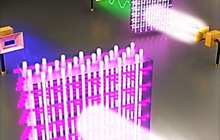 Sugar cube-sized blocks of a new electromagnetic material could transform communication networks