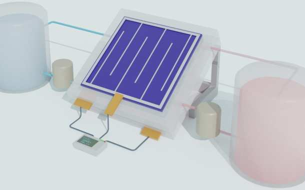 Solar storage gets a boost by merging solar cell and liquid battery technology