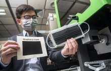 Anti-bacterial graphene face masks