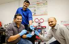 A way for robots to have the artificial intelligence (AI) to recognise pain and to self-repair when damaged