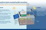 SmartFarm device harvests air moisture at night for autonomous, self-sustaining urban farming