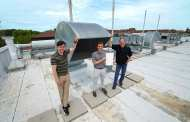 The energy-efficient method for using 100% outdoor air in buildings