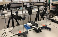 Using hyperspectral imaging to detect viruses on surfaces