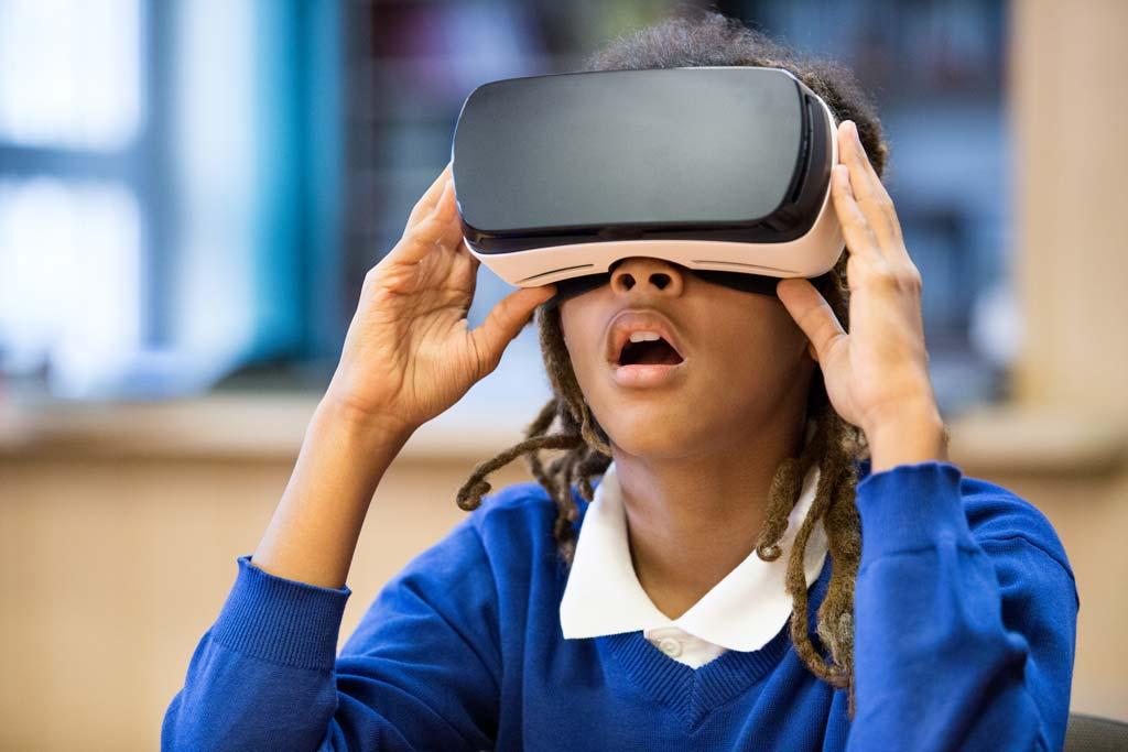 A study at Children's Hospital Los Angeles shows that engaging in VR can reduce pain and anxiety in children undergoing painful medical procedures and reduce the need for anesthesia.