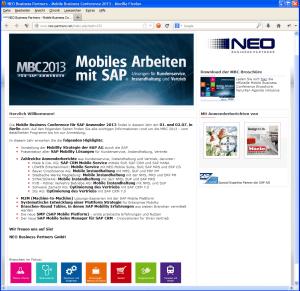 Homepage MBC 2013