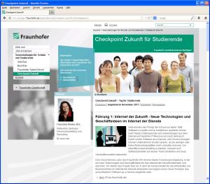 Fraunhofer Checkpoint Zukunft 2013
