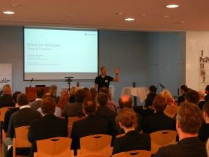 Vorstellung der Kinect 2.0 durch Microsoft Evangelist Daniel Meixner