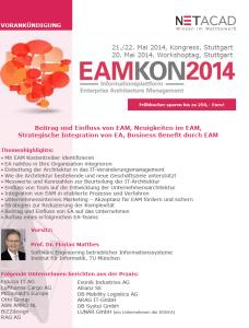 EAMKON 2014 in Stuttgart