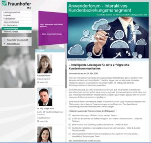 Interaktives Kundenbeziehungsmanagement – Intelligente Lösungen für eine erfolgreiche Kundenkommunikation