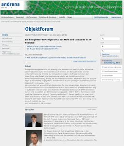 ObjektForum Stuttgart: Ein kompletter Bestellprozess mit Mule und camunda in 24 Stunden