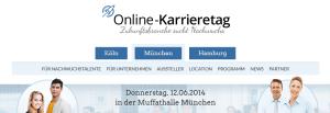 Online-Karrieretag am 12.6. in München
