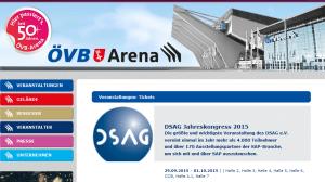DSAG Jahreskongress 2015 in Bremen