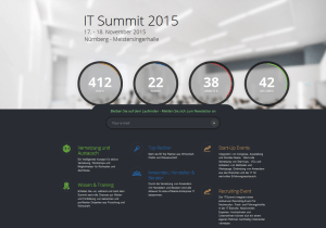 Global IT-Summit 2015 in Nürnberg