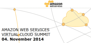 AWS Summit am 4.11.2014