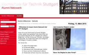 Neues HFT Alumni-Portal