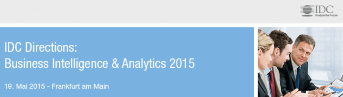 IDC Directions: Business Intelligence & Analytics 2015