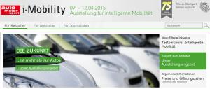 Messe iMobility in Stuttgart