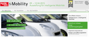 Messe iMobility in Stuttgart