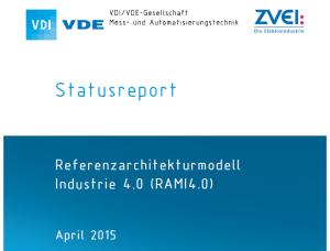 Referenzarchitekturmodell Industrie 4.0 (RAMI4.0) von VDI/VDE/ZVEI