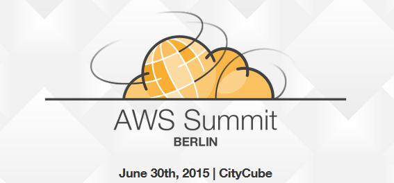 AWS Summit 2015 in Berlin