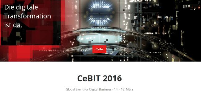 CeBIT 2016: Die Digitale Transformation ist da