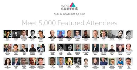 Web Summit 2015 in Dublin