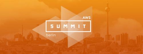 AWS Summit 2016 in Berlin am 12.4.2016
