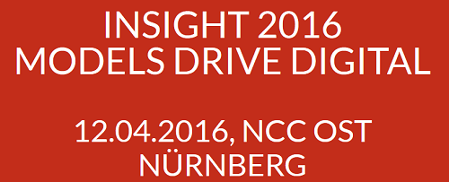 Insight 2016 am 12.4.2016 in Nürnberg