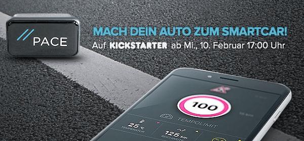 PACE - Macht Ihr Auto zum Smart Car