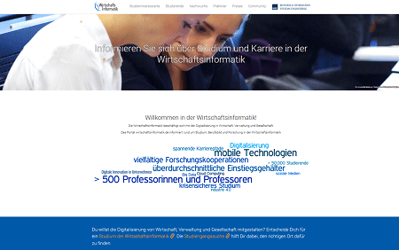 www.wirtschaftsinformatik.de - Die neue Webseite der WI-Community