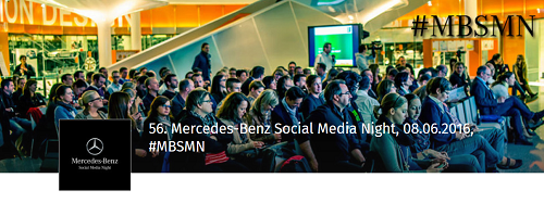 56. Mercedes-Benz Social Media Night